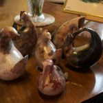 Alison Wear's ceramic pieces