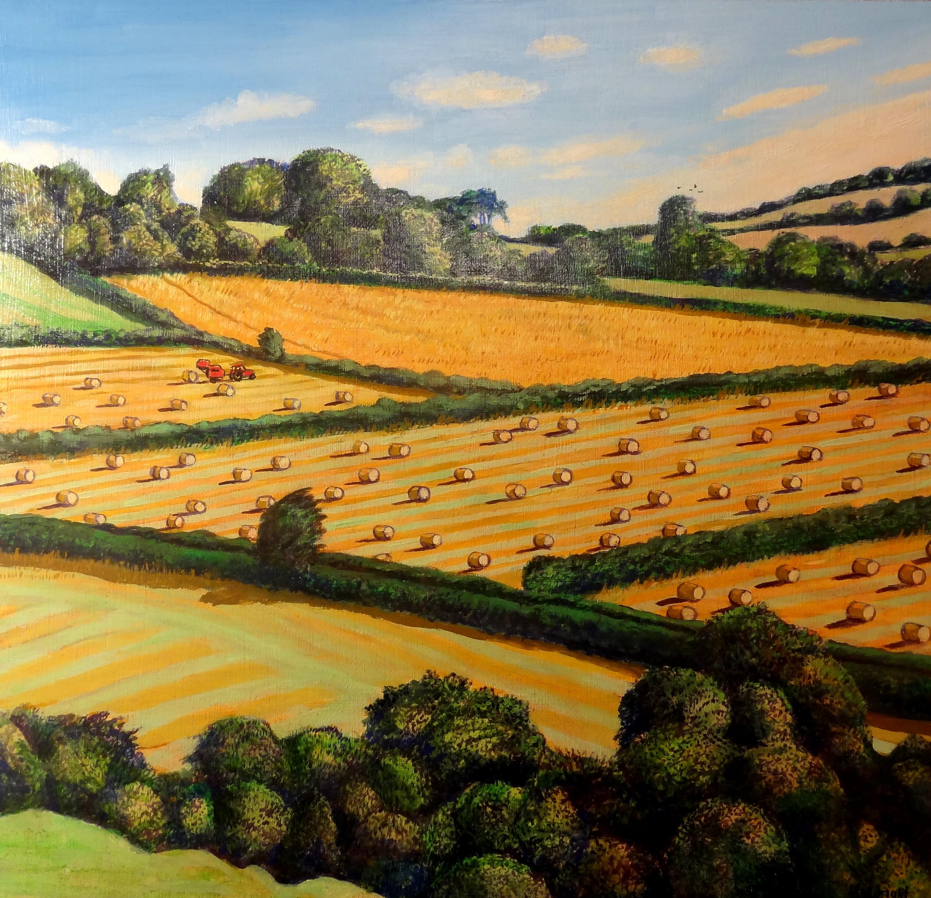 Dorset Bales of Straw, Liz Wright
