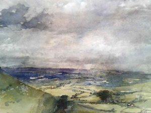Towards Dorset And Beyond, £200, Kim Pragnell