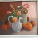 Oranges and tulips