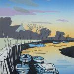 Blakeney evening, Colin Moore