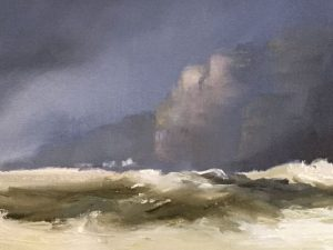 Jurassic cliffs, Kim Pragnell