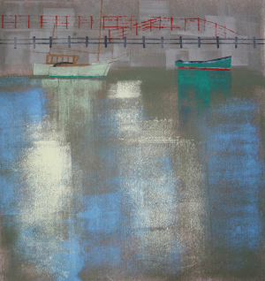 Boats at Bristol Harbour, Ruth Ander
