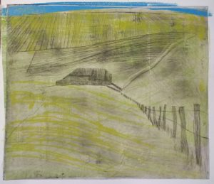 Barn, South Down. Ruth Ander